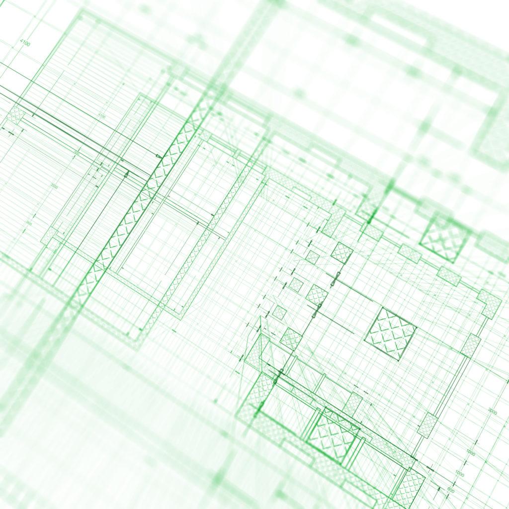 green blueprint large